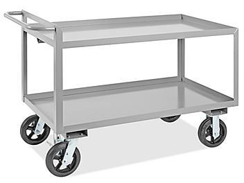 "Uline Jumbo Steel Cart - 54 x 24 x 36"" H-4984"