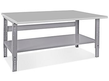 "Jumbo Industrial Packing Table - 72 x 48"", Laminate Top H-4988-LAM"
