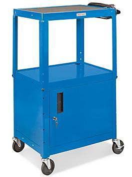 """AV Cart - 26 x 20"""", Blue H-5003BLU"""