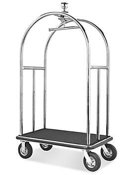 Luggage Cart - Bellman, Silver H-5010SIL