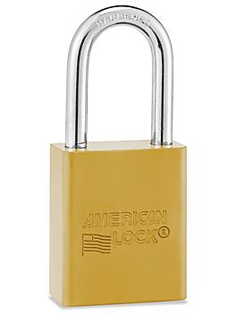 Aluminum Lockout Padlock - Keyed Different, Yellow H-5068Y