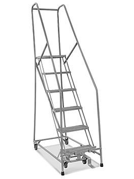 6 Step Narrow Aisle Ladder - Assembled