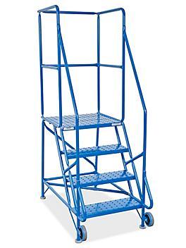 4 Step Tilt and Roll Ladder H-5088