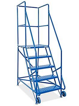 5 Step Tilt and Roll Ladder H-5089