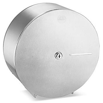 Stainless Steel Jumbo Bath Tissue Dispenser - Single Roll H-5113