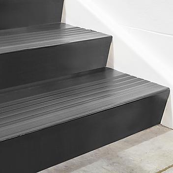 "Stair Tread Risers - Vinyl, 48 x 7"", Black H-5196BL"