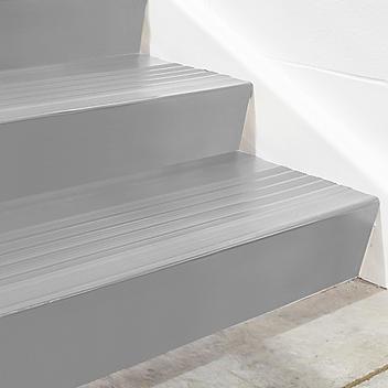 "Stair Tread Risers - Vinyl, 48 x 7"", Gray H-5196GR"