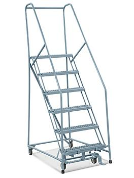 """6 Step Grip Step Ladder - Assembled with 10"""" Top Step H-5228-10"""