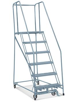 """6 Step Grip Step Ladder - Assembled with 20"""" Top Step H-5228-20"""