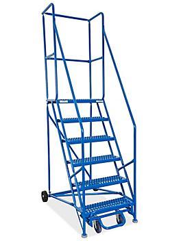 "6 Step Grip Step Ladder with 15"" Top Step H-5232"