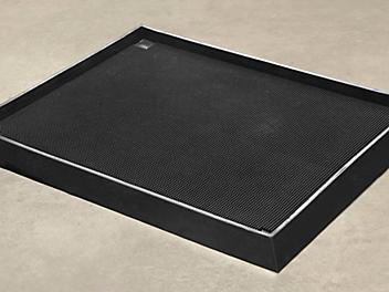 "Sanitizing Footbath Mat - 32 x 39"", Black H-5241"