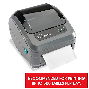 Zebra GK420D Desktop Direct Thermal Barcode Printer with Ethernet H-5271
