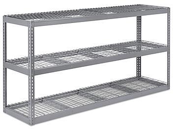 """Wide Span Storage Rack - Wire Decking, 96 x 24 x 48"""" H-5324"""