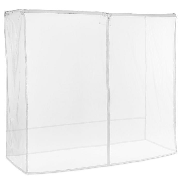 """Mobile Shelving Cover - 72 x 24 x 63"""", Clear H-5459C"""