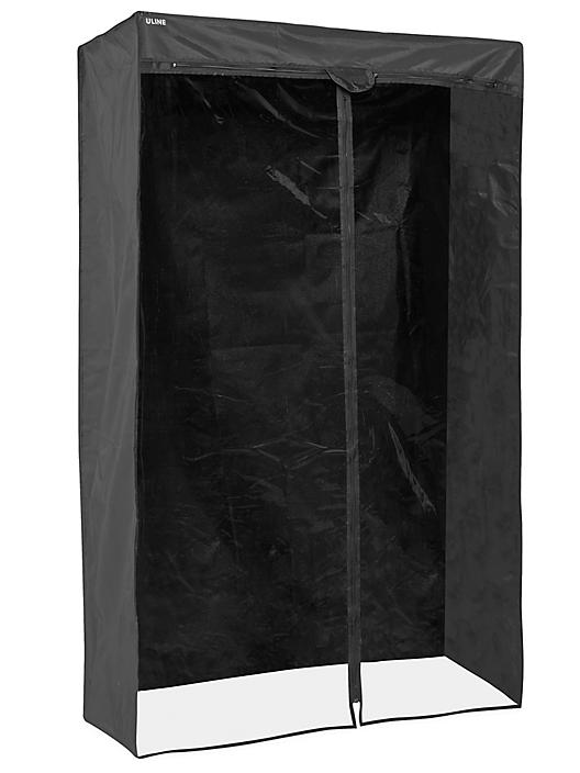 """Mobile Shelving Cover - 36 x 24 x 72"""", Deluxe H-5461DLX"""