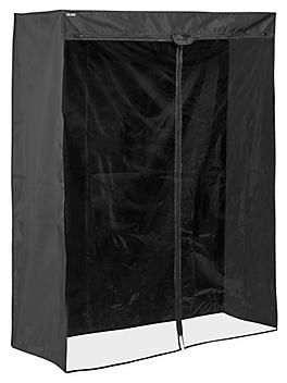 """Mobile Shelving Cover - 48 x 18 x 72"""", Deluxe H-5462DLX"""