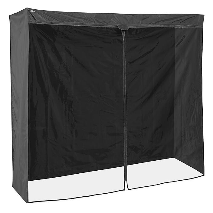"""Mobile Shelving Cover - 72 x 24 x 72"""", Deluxe H-5465DLX"""