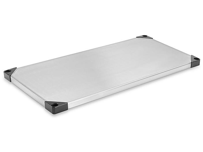 """Additional Solid Stainless Steel Shelves - 36 x 18"""" H-5466-SHELF"""