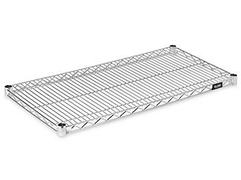 """Additional Stainless Steel Wire Shelves - 36 x 18"""" H-5481"""