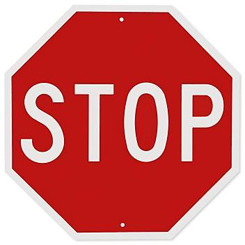 """Stop"" Sign - 30 x 30"", Engineer Grade H-5514"