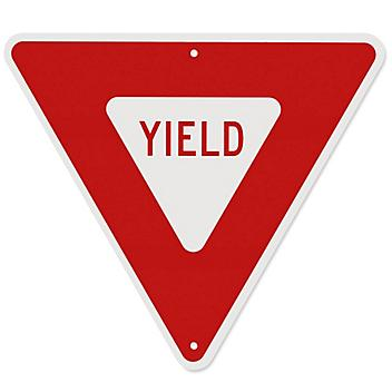 """""""Yield"""" Sign - 24 x 24"""" H-5519"""