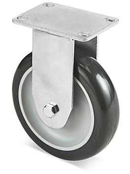"""Standard Polyurethane Caster - Rigid, 5 x 1 1/4"""" H-5540R"""