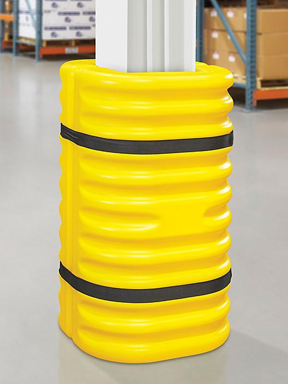 "Column Protector - 12"", Yellow H-5558"