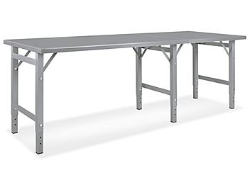 """Steel Assembly Table without Bottom Shelf - 96 x 36"""" H-5602"""