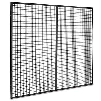 Wire Machine Guard Panel - 8 x 7' H-5611-7