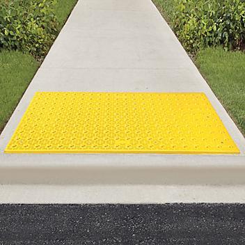 ADA Warning Pads - Wet Set, 2 x 5', Yellow H-5638Y