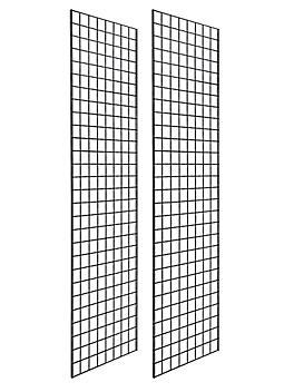 Gridwall Panels - 2 x 7', Black H-5702BL
