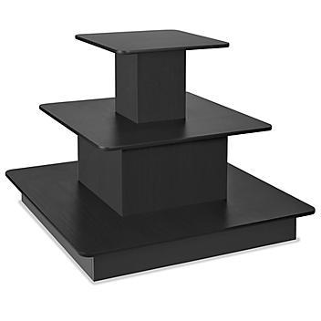 3 Tier Display Table - Black H-5714BL