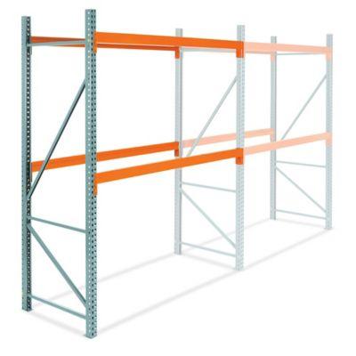Add-On Unit for 2 Shelf Pallet Rack - 96 x 42 x 120