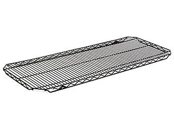 "Additional Quick Adjust Wire Shelves - 48 x 18"", Black H-5752"