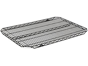 "Additional Quick Adjust Wire Shelves - 36 x 24"", Black H-5753"