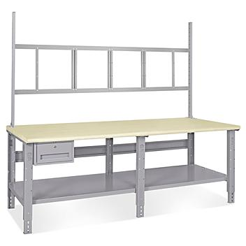 """Deluxe Workstation Starter Table - 96 x 36"""", ESD Top H-5771-ESD"""