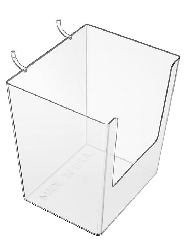"Pegboard Plastic Bins - 3 5/8"" H-5798"