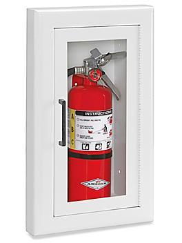 Fire Extinguisher Cabinet - Semi-Recessed, 2 1/2 - 5 lb H-5799