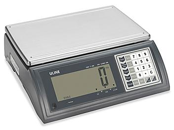 Uline Deluxe Counting Scale - 27 lbs x .0005 lb H-5820