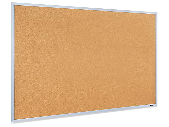 Cork Board with Aluminum Frame - 5 x 3' H-5824