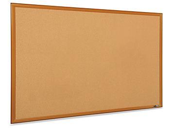 Cork Board with Oak Frame - 5 x 3' H-5825