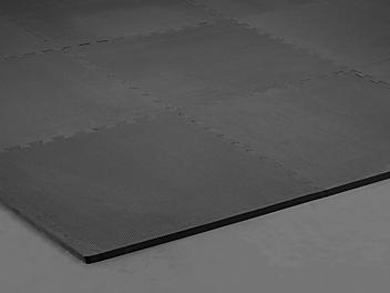 "Foam Floor Tiles - 24 x 24"", 5/8"" thick, Black H-5833"