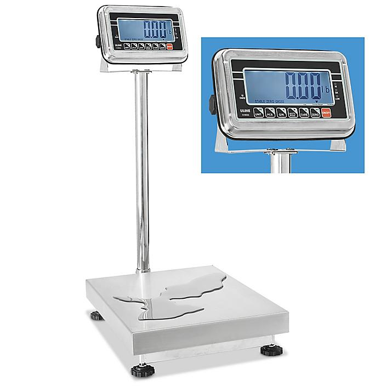 Uline Washdown Platform Scale - 100 lbs x .02 lb H-5836