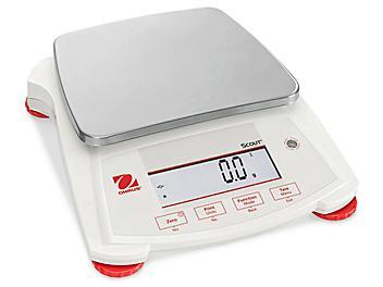 Ohaus Scout® Balance Scale - 6,200 grams x 0.1 gram H-5854