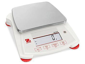 Ohaus Scout® Balance Scale - 8,200 grams x 1 gram H-5855