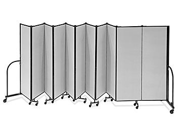 Portable Room Dividers - 11 Panels, 6'