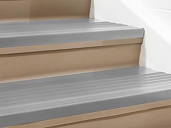 """Indoor Stair Treads - Vinyl, 36 x 12"""", Gray H-5880GR"""