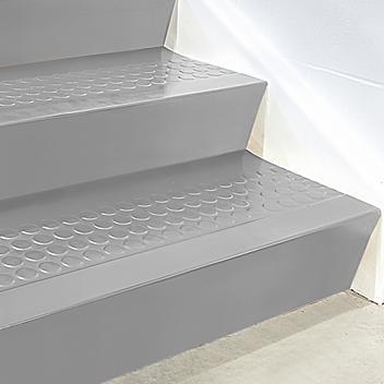 "Stair Tread Risers - Rubber, 36 x 7"", Gray H-5883GR"