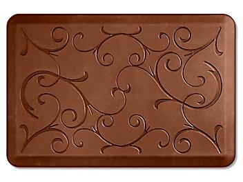 Decorative Checkout Mat - 2 x 3', Brown H-5900BR