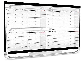 Dry Erase Calendar - 4 Month, 3 x 2' H-5920